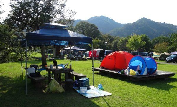 初キャンプ画像
